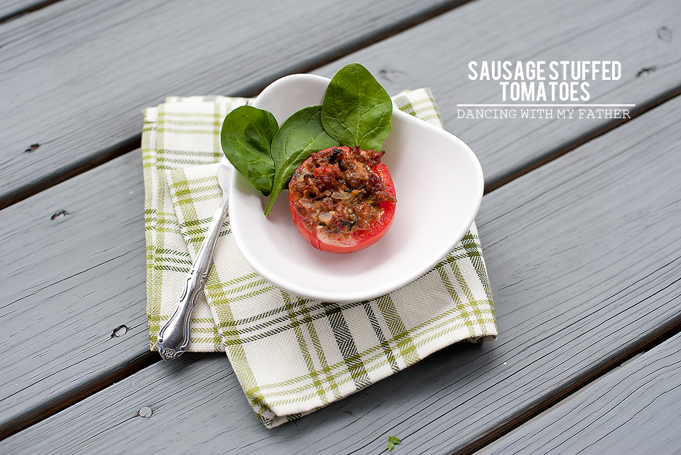 sausage stuffed tomatoes_1