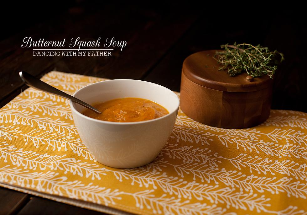 butternut squash soup b