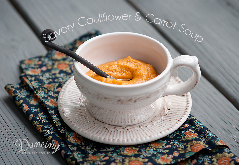 carrot and cauliflower soup title
