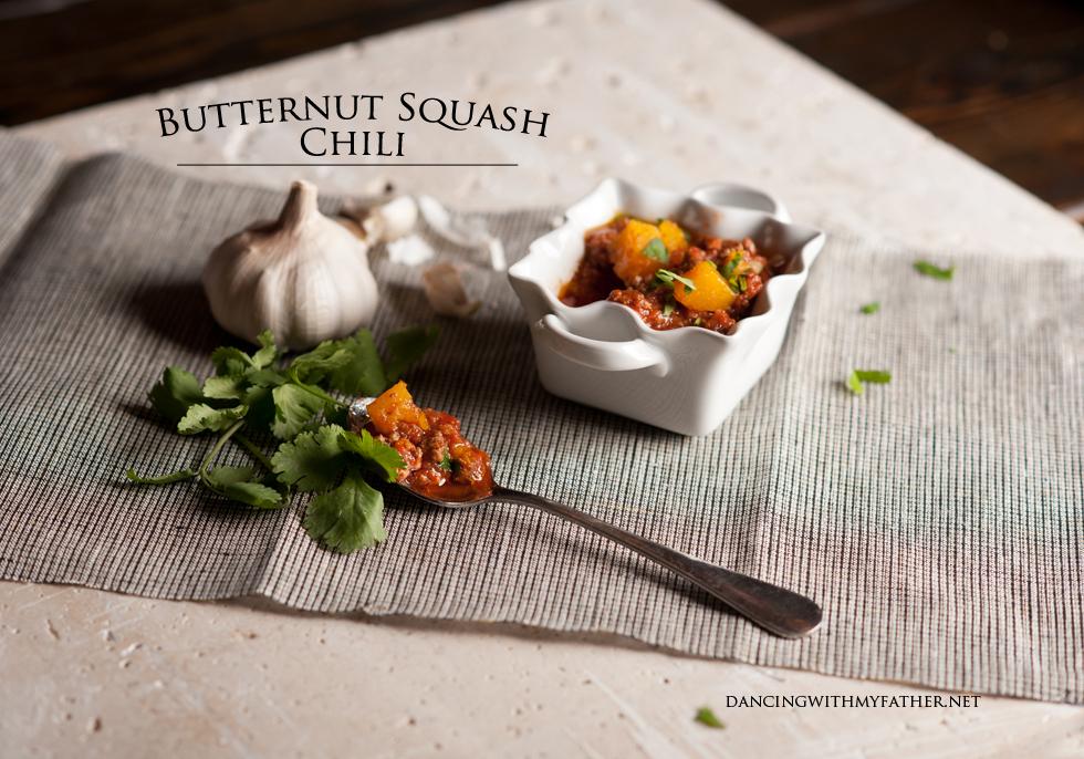 paleo butternut squash chili