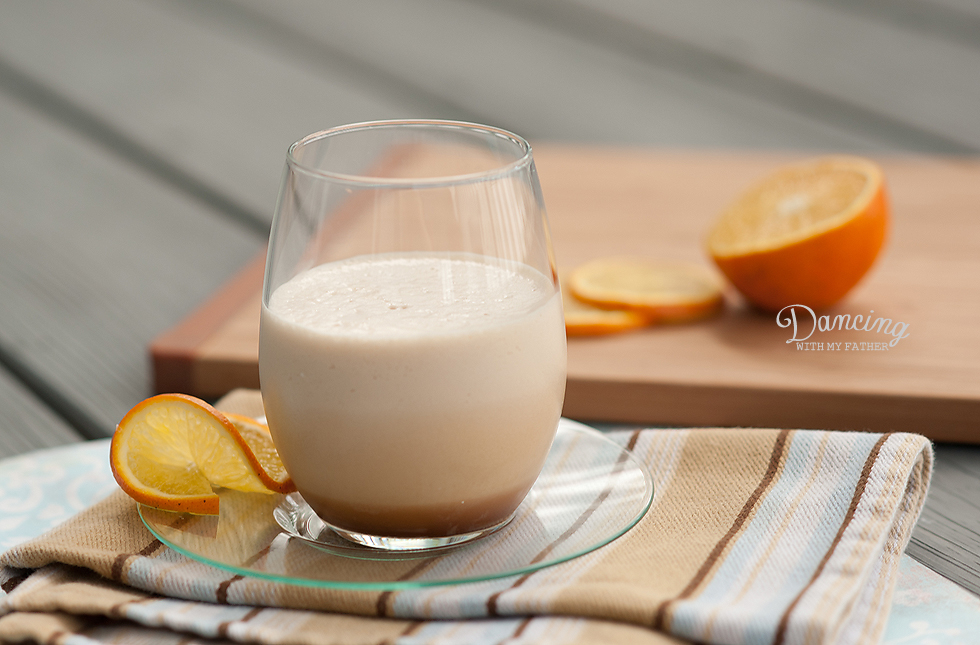 Florida Orange Caramel Iced Coffee Frappe_5