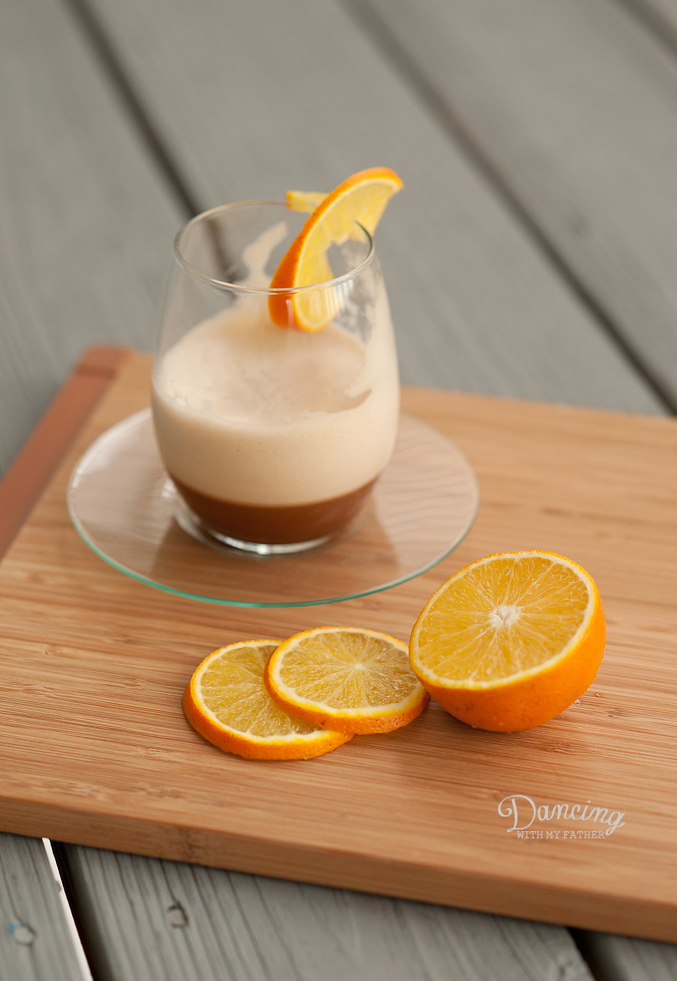 Florida Orange Caramel Iced Coffee Frappe_a