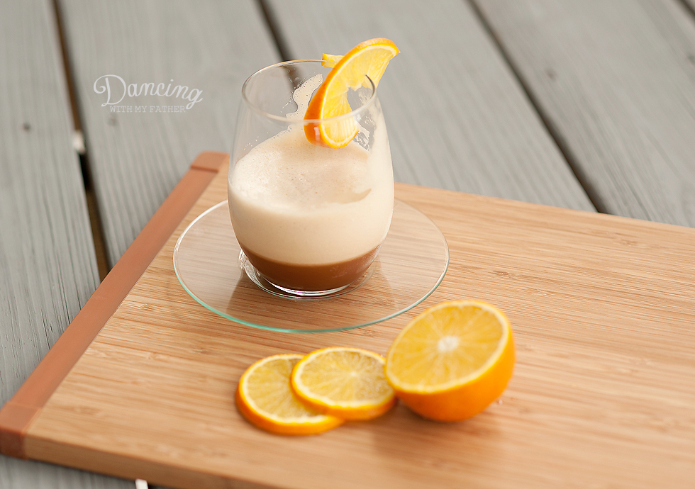 Florida Orange Caramel Iced Coffee Frappe_e