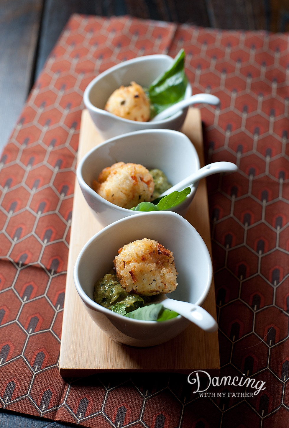 rice balls with asparagus pesto_e
