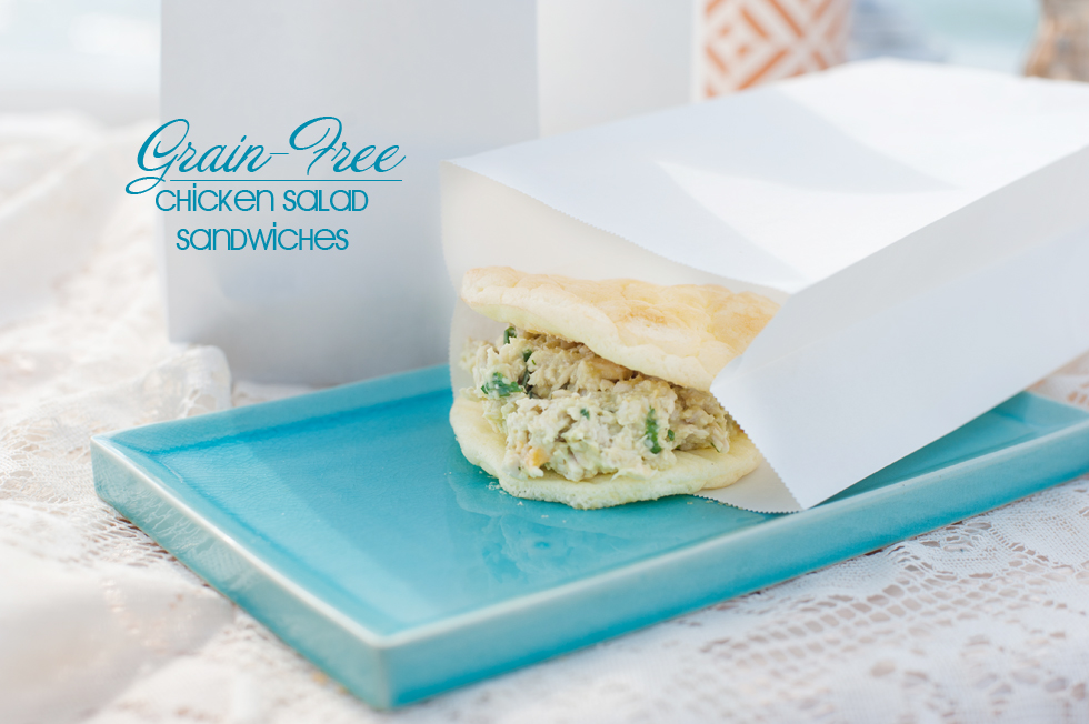 Gluten Free chicken salad sandwich recipe b