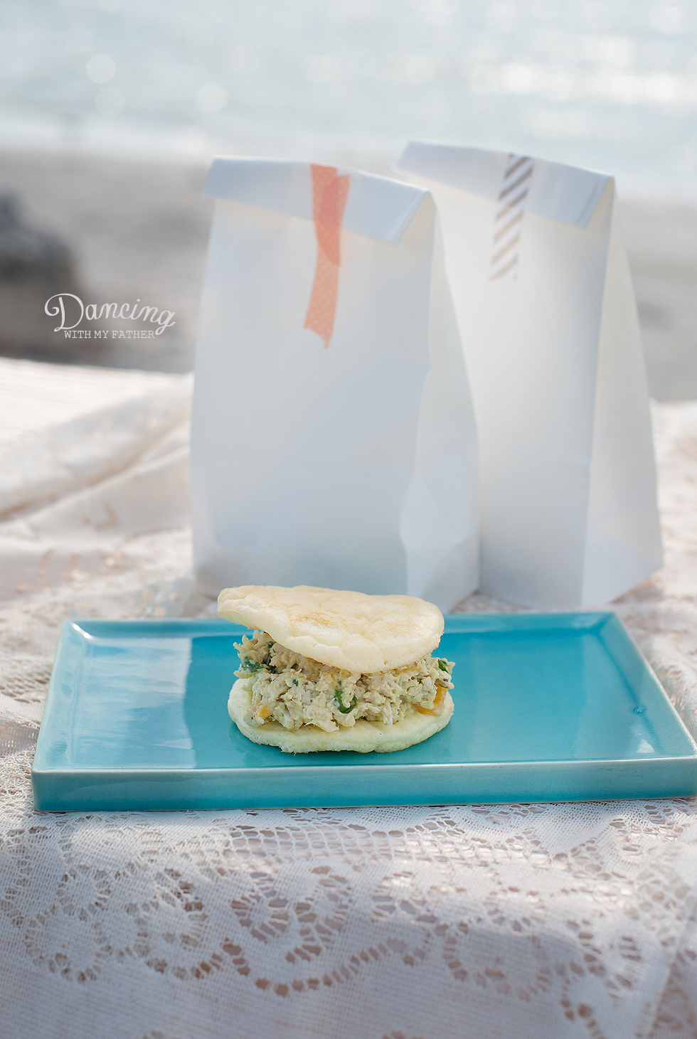 Gluten Free chicken salad sandwich recipe c