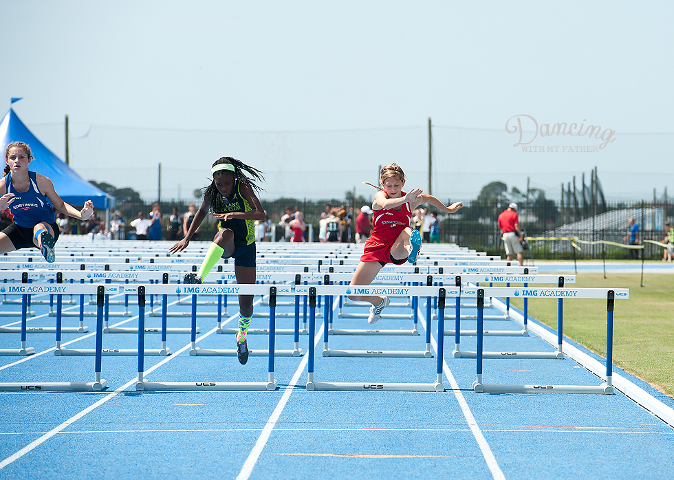 jr high track hurdles a