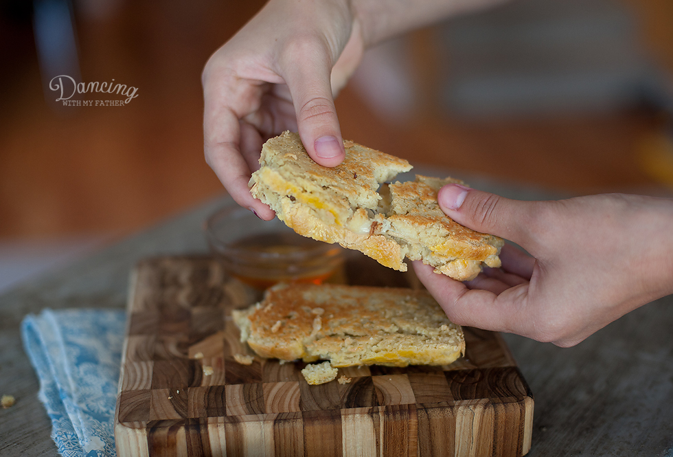 grain-free honey grilled cheese c