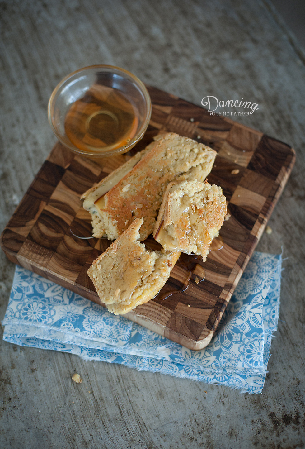 grain-free honey grilled cheese e