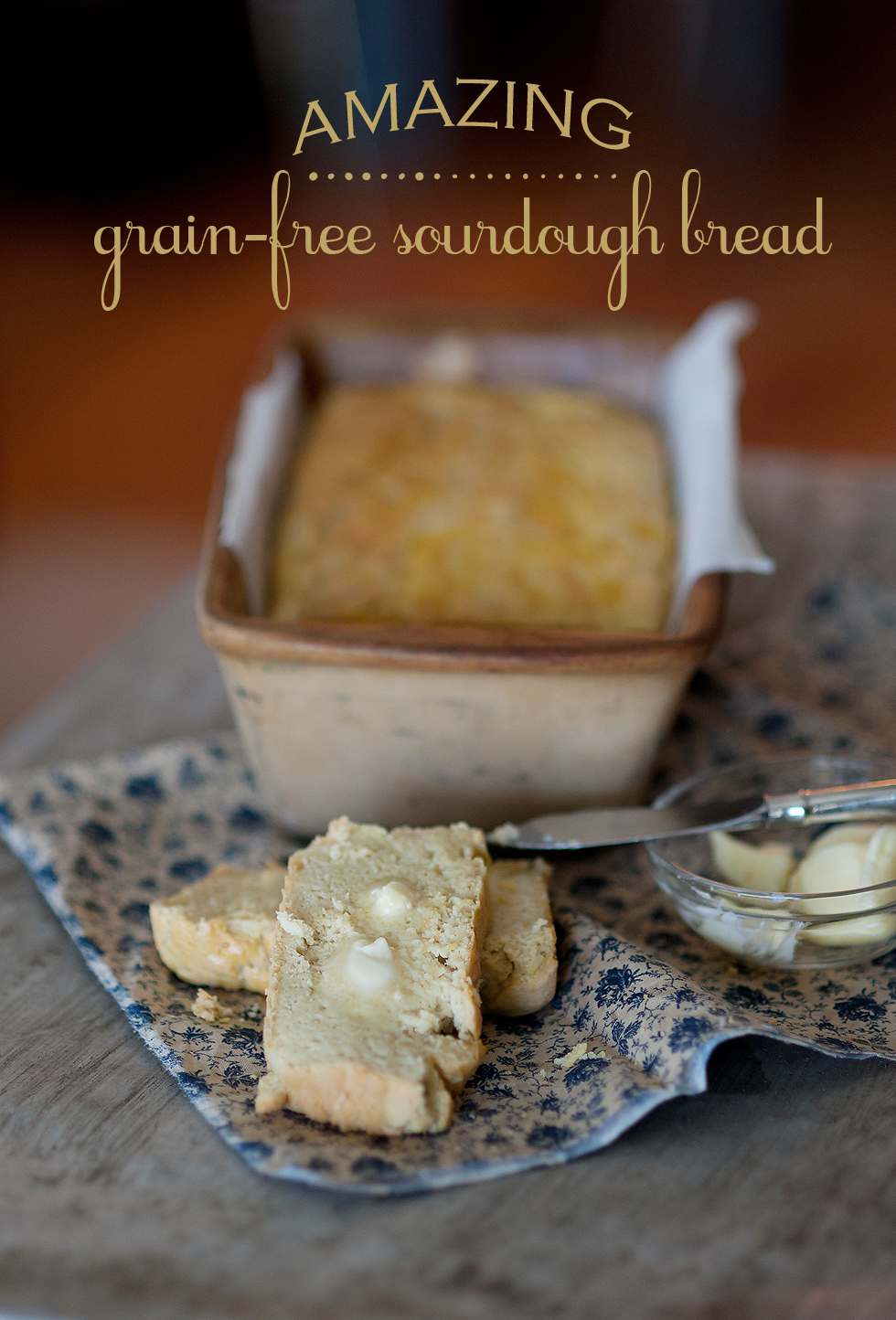 grain free sourdough recipe title