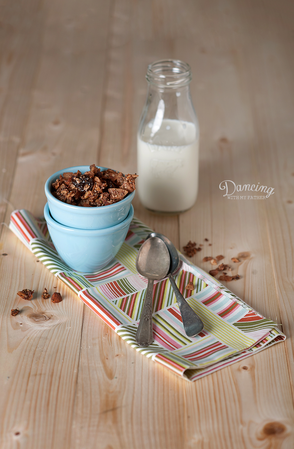 grain free chocolate granola_D
