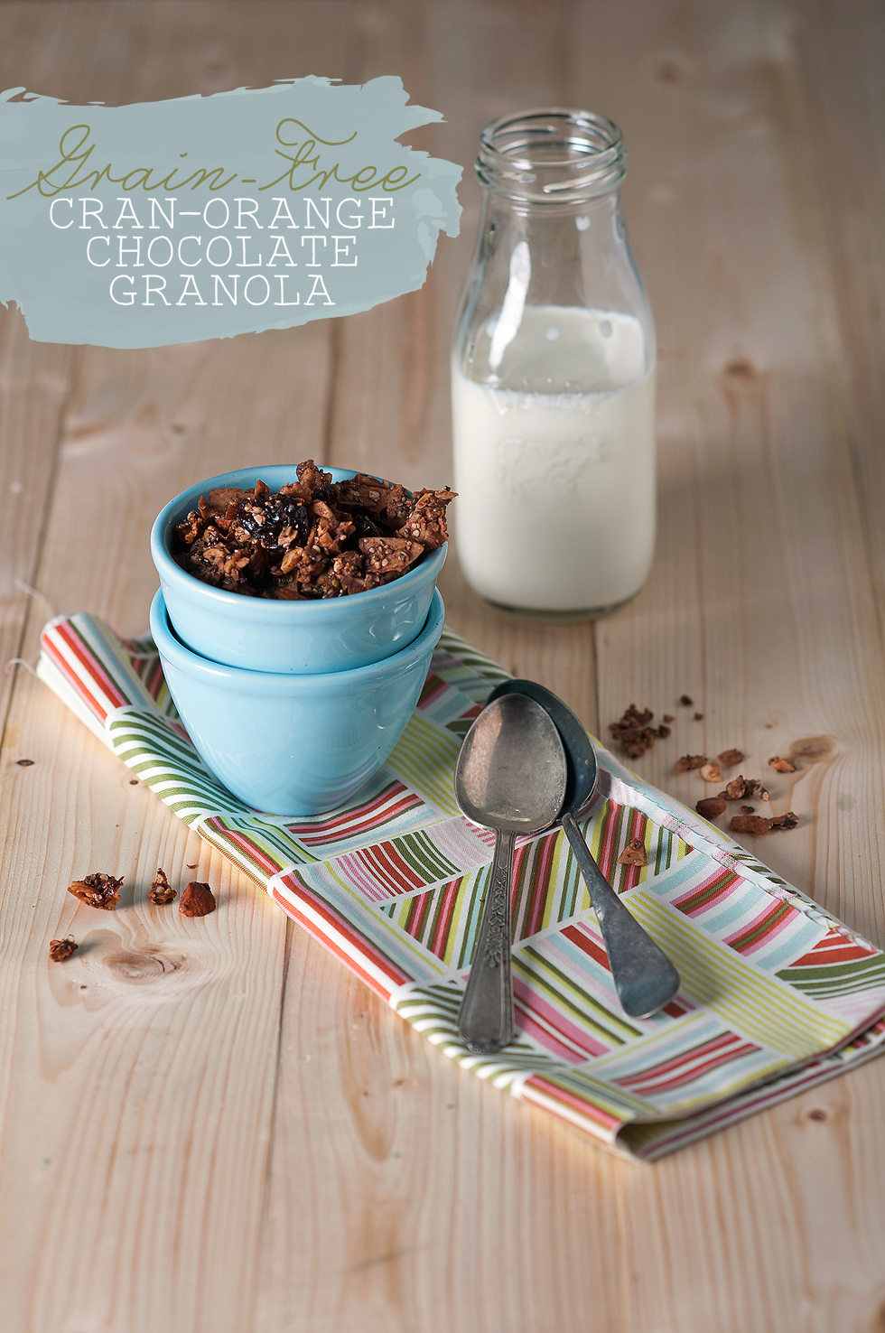 grain free chocolate granola_title