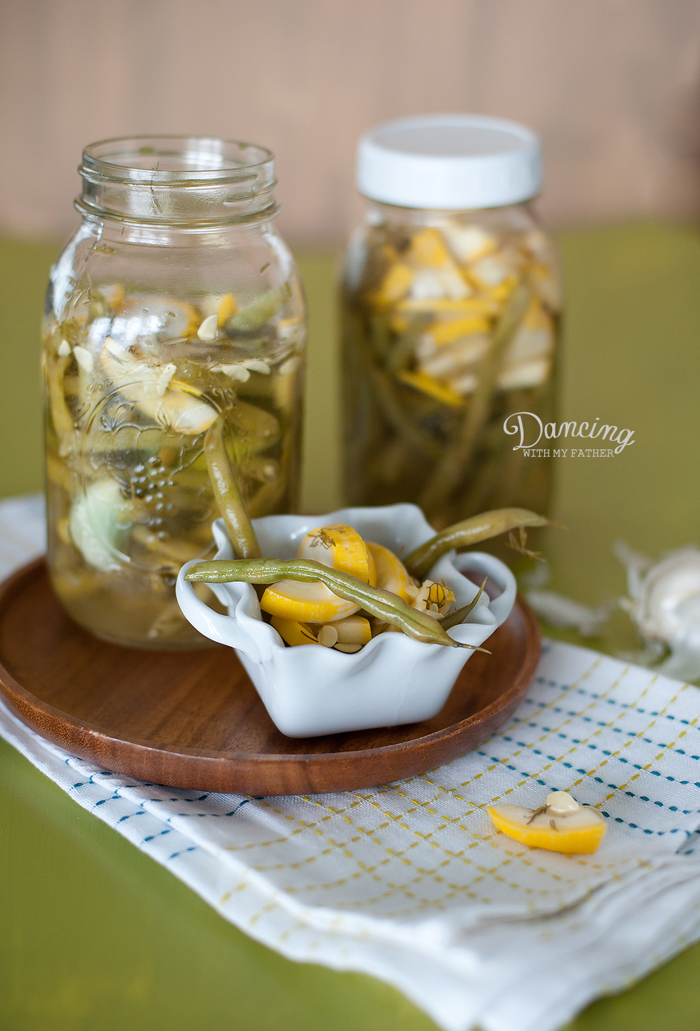 sweet-hot refrigerator pickles