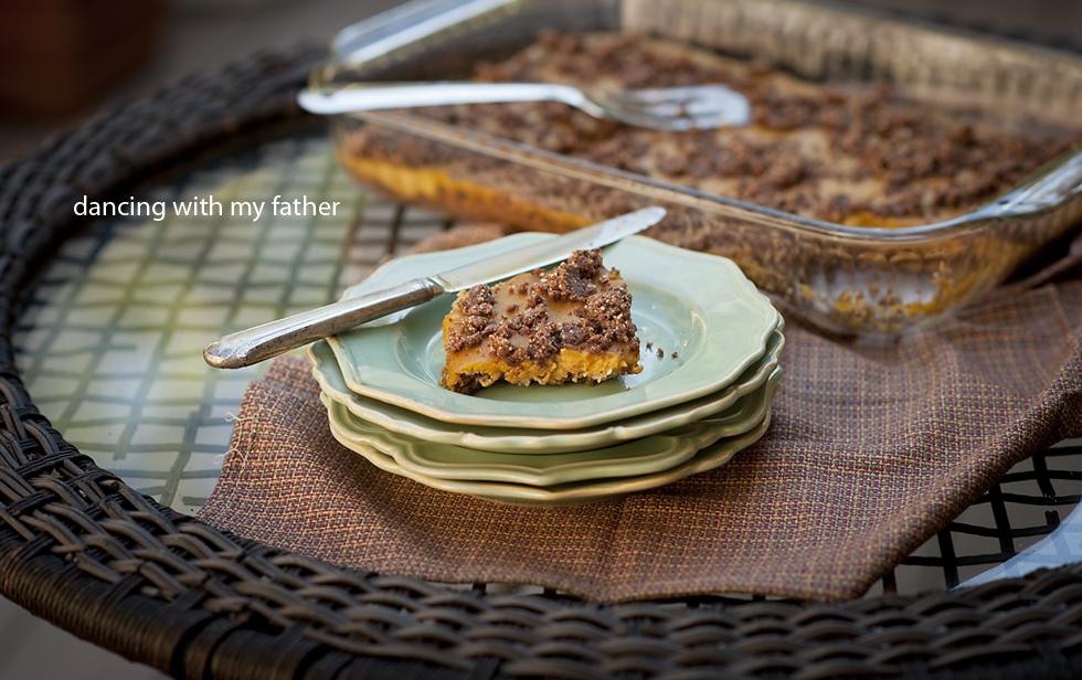 paleo pumpkin pie bars b
