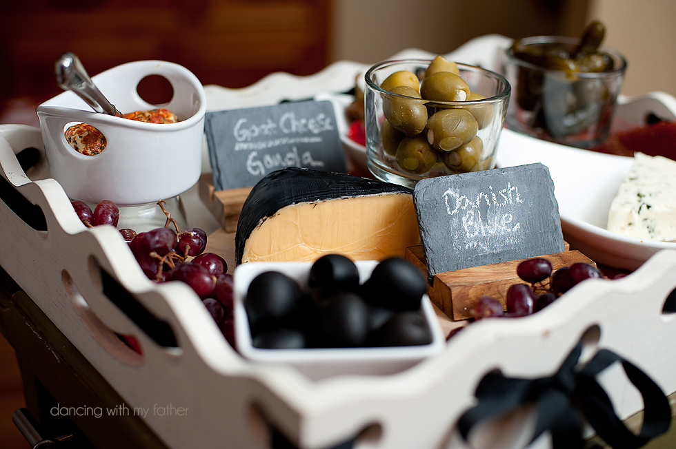 how to make a cheese platter c