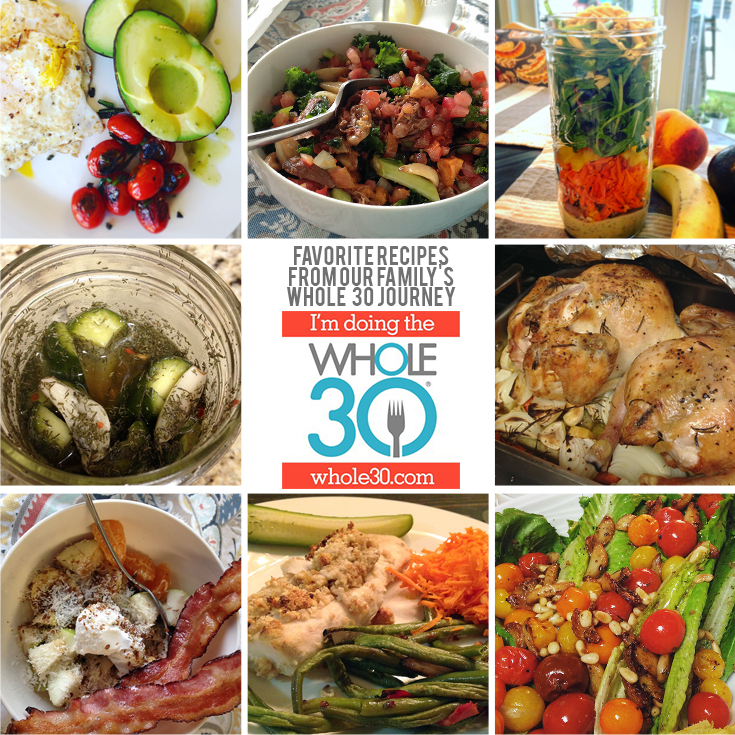 whole 30 collage a