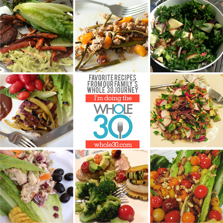 whole 30 collage b